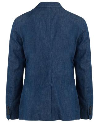 Blazer en denim à boutonnière simple Detox DONDUP