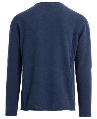 Cotton blend round neck jumper DONDUP