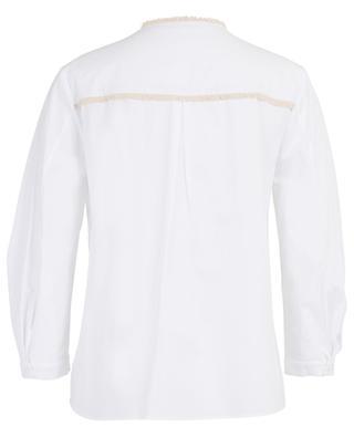 Bluse aus Baumwollmix mit Fransendetails DOROTHEE SCHUMACHER