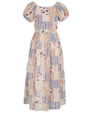 Longue robe en coton fleuri Lais LOVESHACKFANCY