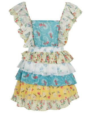 Phyllis floral print cotton mini dress LOVESHACKFANCY