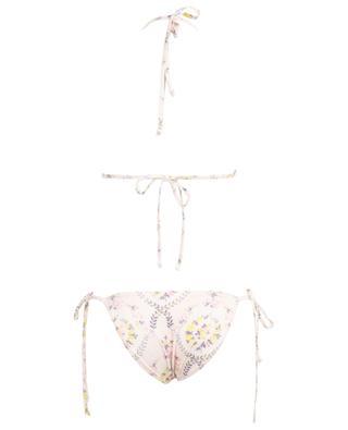 Geblümter Triangel-Bikini Riviera Lemon Dream LOVESHACKFANCY