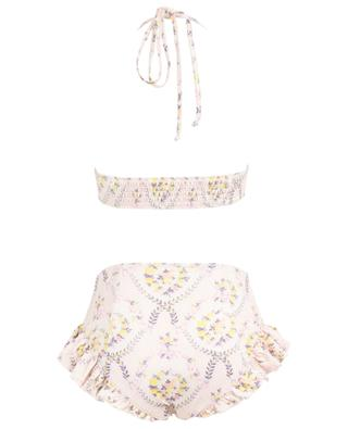 Bikini fleuri avec bas taille haute Kimberly Lemon Dream LOVESHACKFANCY