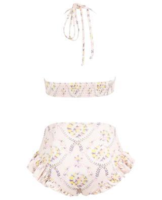 Kimberly Lemon Dream floral high-rise bikini LOVESHACKFANCY