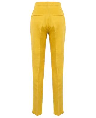 Caryl linen blend straight trousers TAGLIATORE