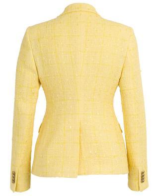 Blazer en tweed a boutonnière double Alicya TAGLIATORE