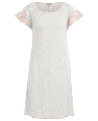 Lilly short jersey night shirt with lace and satin PALADINI