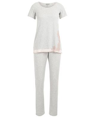 Pyjama en jersey de modal et dentelle Liberty PALADINI