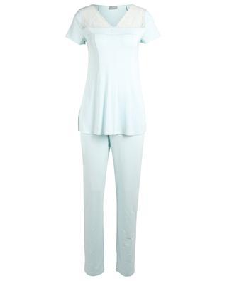 Pyjama en modal et dentelle Rita PALADINI