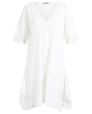 Orsola lace adorned cotton night shirt PALADINI
