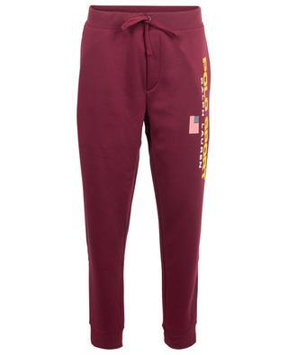 Pantalon de jogging en coton mélangé avec drapeau americain POLO RALPH LAUREN