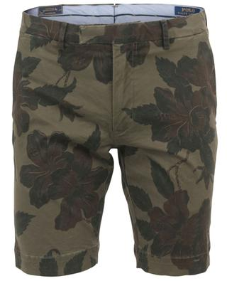 Shorts aus geblümtem Twill Stretch Slim Fit POLO RALPH LAUREN