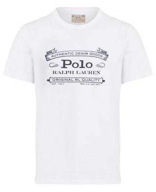 T-shirt en coton imprimé Authentic Denim Goods POLO RALPH LAUREN