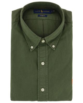 M Classics khaki cotton shirt POLO RALPH LAUREN