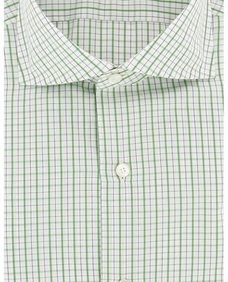 Chemise à carreaux en coton Giza 170 a due Eduardo FINAMORE