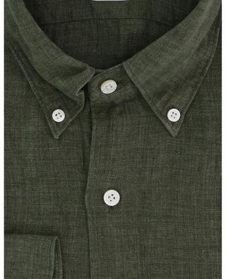 Chemise à manches longues en lin Leonardo Gaeta FINAMORE