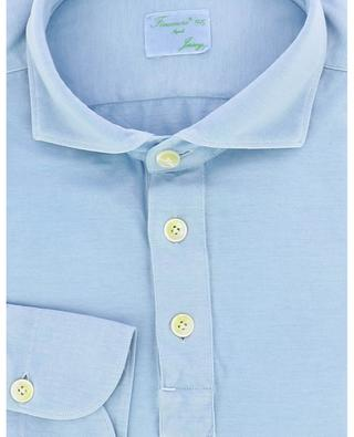 Achille jersey long-sleeved polo shirt FINAMORE