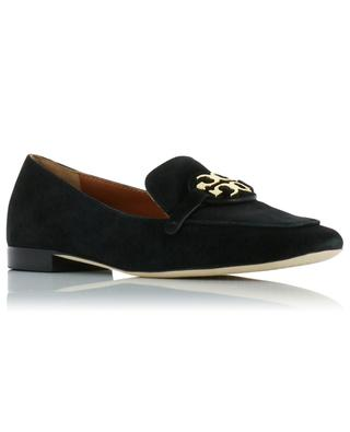 Metal Miller suede loafers TORY BURCH