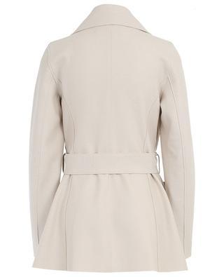 Mantel aus Schurwolle mit Gürtel HARRIS WHARF