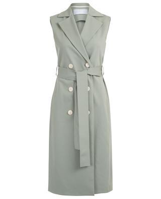 Ärmelloses doppelreihiges Trench-Kleid HARRIS WHARF