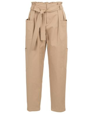 Gabardine high-rise cargo trousers RED VALENTINO