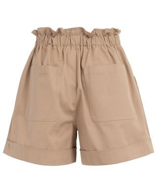 Cotton blend shorts with bow belt RED VALENTINO