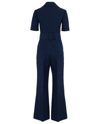 Cady jumpsuit with GG belt GUCCI