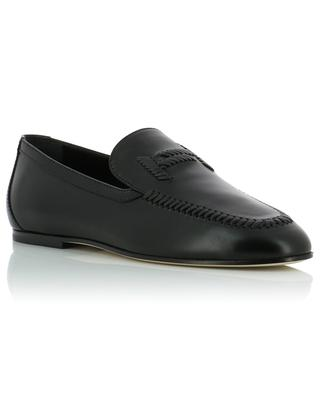 Dopia T embroidered nappa leather loafers TOD'S
