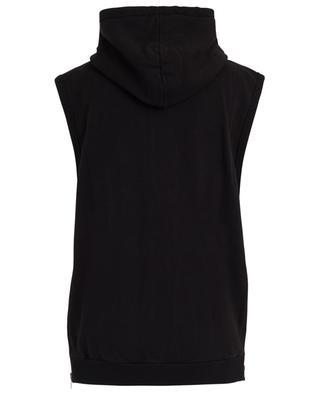 Sweat-shirt à capuches sans manches avec zips SAINT LAURENT PARIS