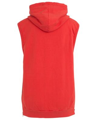 Sleeveless hoodie with side zippers SAINT LAURENT PARIS