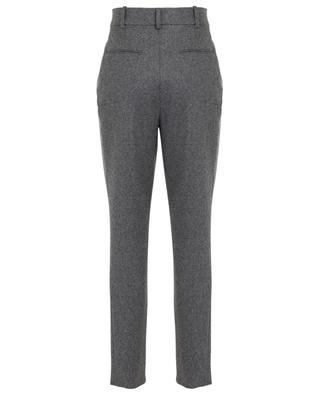 Pantalon à pinces en laine SAINT LAURENT PARIS