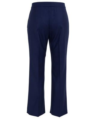 7/8-Bundfaltenhose aus Wolle STELLA MCCARTNEY