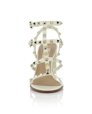 Sandales en cuir à talon carré et brides Rockstud VALENTINO