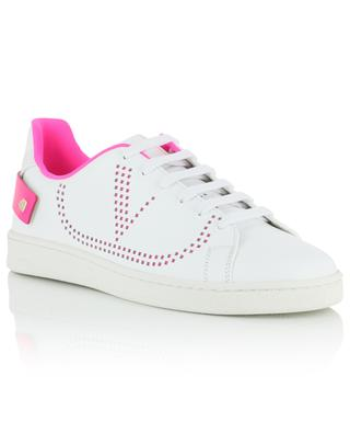 VLOGO Backnet perforated leather sneakers VALENTINO