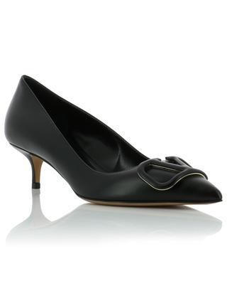 VLOGO leather pumps with stiletto heels VALENTINO