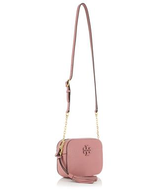 McGraw Camera pebbled leather cross body bag TORY BURCH