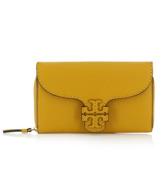 Pochette en cuir grainé McGraw TORY BURCH