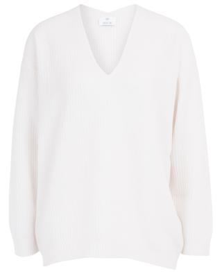 Pull col V en cachemire ALLUDE