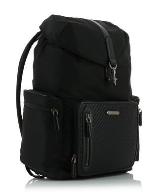 Rucksack aus geflochtenem Leder und Nylon Z ZEGNA