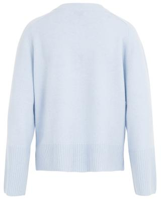 Pull col rond laine vierge et cachemire ALLUDE
