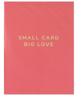 Carte postale Small Card Big Love LAGOM DESIGN