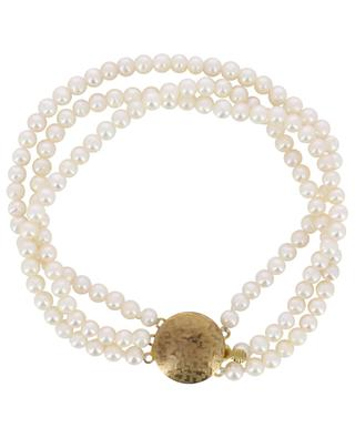Real beads adorned anklet TIMELESS PEARLY