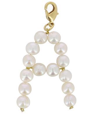 Pendentif doré avec perles d'eau douce Alpha A TIMELESS PEARLY