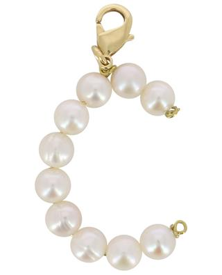 Alpha C golden pendant with freshwater pearls TIMELESS PEARLY