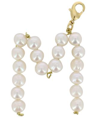 Alpha M golden pendant with freshwater pearls TIMELESS PEARLY