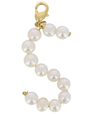 Pendentif doré avec perles d'eau douce Alpha S TIMELESS PEARLY