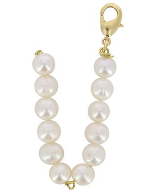 Golden pendant with freshwater pearls Alpha V TIMELESS PEARLY
