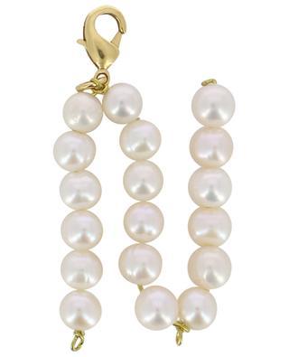 Pendentif doré avec perles d'eau douce Alpha N TIMELESS PEARLY