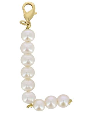 Alpha L golden pendant with freshwater pearls TIMELESS PEARLY