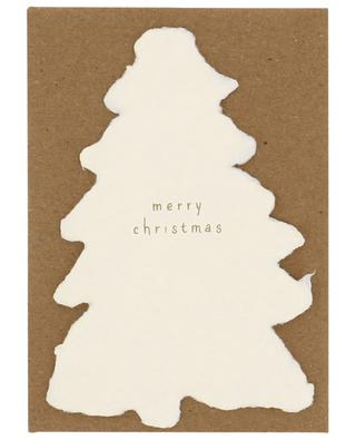 Merry Christmas fir tree Christmas card OBLATION PAPERS